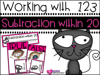 Subtraction within 20 {A Working With Numbers Center}
