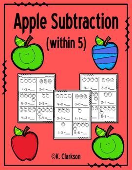 Subtraction {within 5}