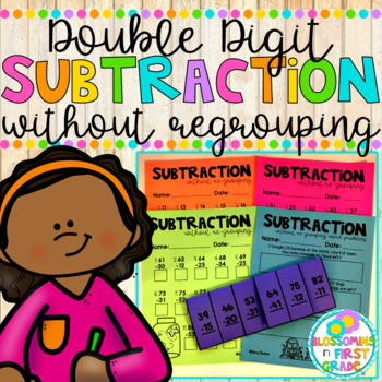 Subtraction without Regrouping {Double Digit}
