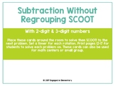 Subtraction Without Regrouping SCOOT Game!