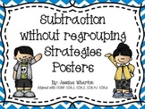 Subtraction without Regrouping Strategies Posters