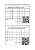 Subtraction worded problems with QR codes