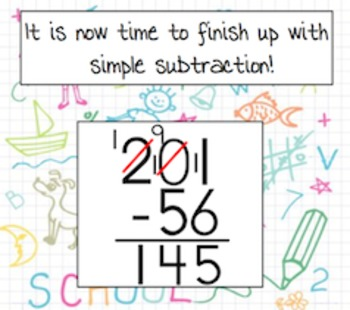 Subtractions with Zeros