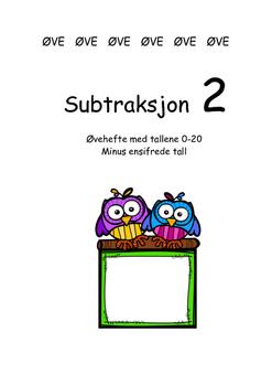 Subtraksjon 2 med tallene 0-20