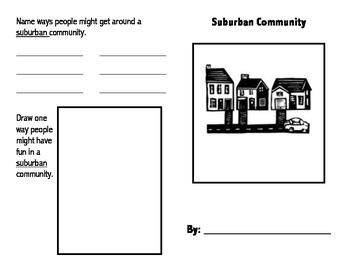 Suburban Community Book