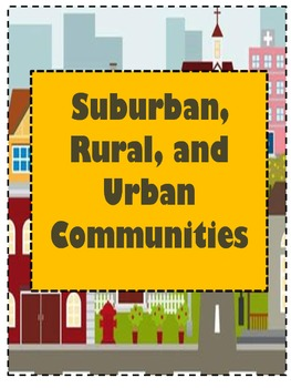 Suburban, Rural, and Urban Mini Bundle