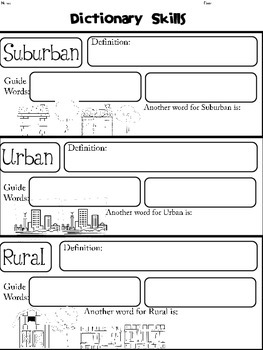 Literacy Stations: Suburban, Rural, or Urban- Community to Community