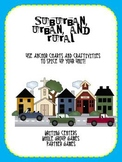 Suburban, Urban, and Rural for the Primary Classroom