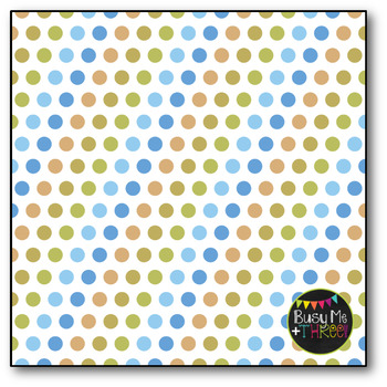 Suburbia Polka Dots Digital Papers {Commercial Use Digital Graphics}