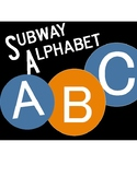 Subway Alphabet Letter