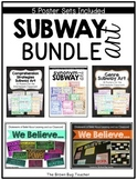 Subway Art Bundle: Genres, Comprehension Strategies, Synon