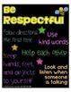 Subway Art - Rules Posters {freebie}