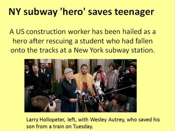 Subway Hero 2007 Wes Autrey