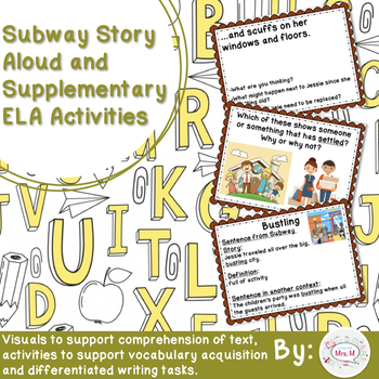 Subway Story Aloud and Supplementary ELA Activities