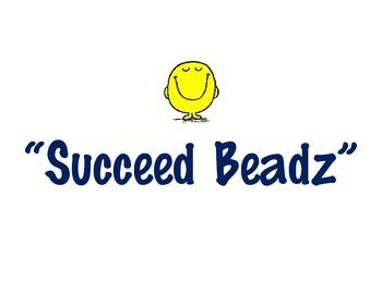 """""""Succeed Beadz"""" : An alternative to Brag Tagz"""