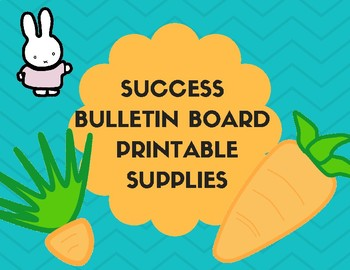 Success Bulletin Board Materials