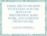 Success Bulletin Board Quotes (3 pages)