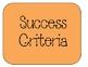 Success Criteria Indicator Display