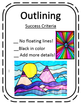 Success Criteria Rubric for Outlining