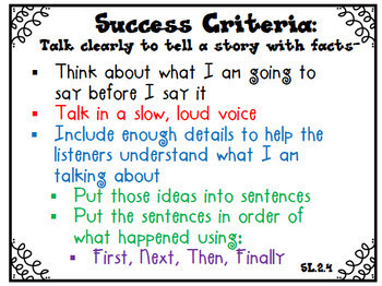 Success Criteria for Common Core Learning Targets BUNDLE 2nd grade {Editable}