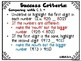 Success Criteria for Common Core Learning Targets in Math 2nd grade {Editable}