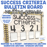 Success Criteria for Writing Bulletin Board
