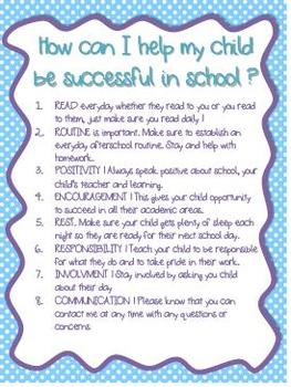 Success Letter To Parents Polka Dots