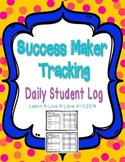Success Maker Daily Log- Student Sheets