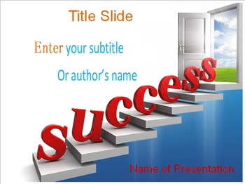 Success PPT Template