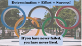 Olympics Success Persistence Goal-setting READY-TO-USE LESSON w 6 videos