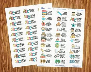 Success Stickers - Literacy