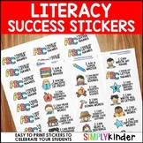 Success Stickers - Literacy