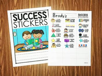 Success Stickers - Math