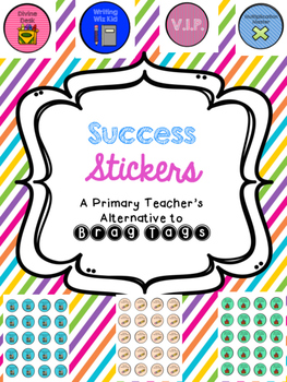 Success Stickers for Good Behavior