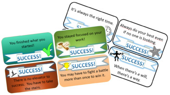 Success Tickets - Growth Mindset (Printable)