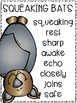 Success for All (SFA) Reading Wings 2.1 Squeaking Bats Vocabulary Word Kit