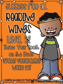 Success for All (SFA) Reading Wings 2.2 Throw Your Tooth o