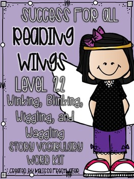 Success for All (SFA) Reading Wings 2.2 Winking, Blinking... Word Kit