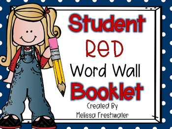 Success for All (SFA) Student Word Wall Booklet (A-Z)