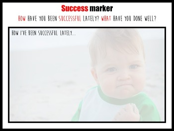 Success markers