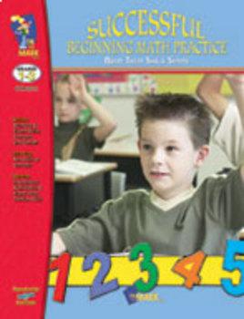 Successful Beginning Math Practice: Build Their Skills Workbook Grades 1-3