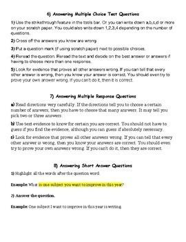 Successful Common Core ELA State Test Strategies
