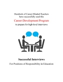 Successful Interviews for Positions of Responsibility in E