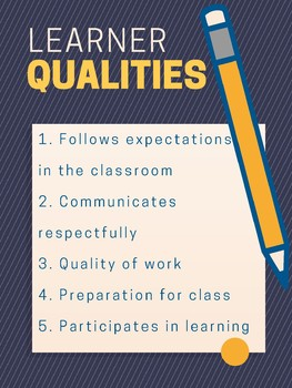Successful Learner Qualities