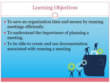 Successful Meetings PowerPoint Presentation editable