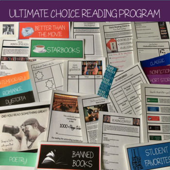 Outside Reading Complete Program Packet