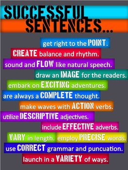 Successful Sentences... Poster