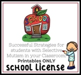 Teachers Guide to Selective Mutism 70+ Printables (School Wide Use)