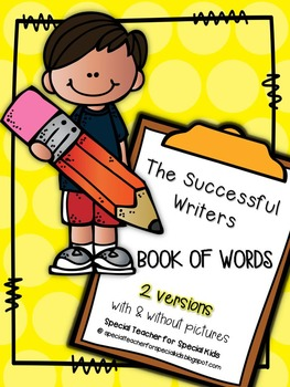 Successful Writers Book of Words             *** No Prep***