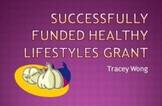Successfully Funded Healthy Lifestyles Grant